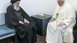Pope Francis, Iraq's Top Shiite Cleric Hold Historic Meeting on 'Peaceful Coexistence'