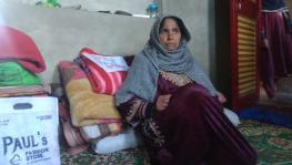 Jawahira Bano at her home in Frisal village of Kulgam.