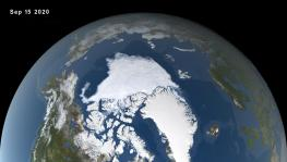 Arctic Sea Ice Reaches Seventh Lowest Mark on Record, Finds NASA
