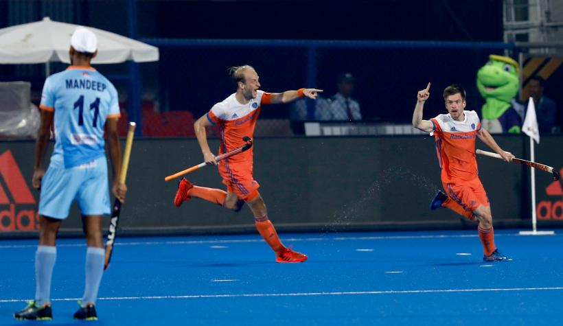 India vs Netherlands FIH Men's Hockey World Cup quarterfinal