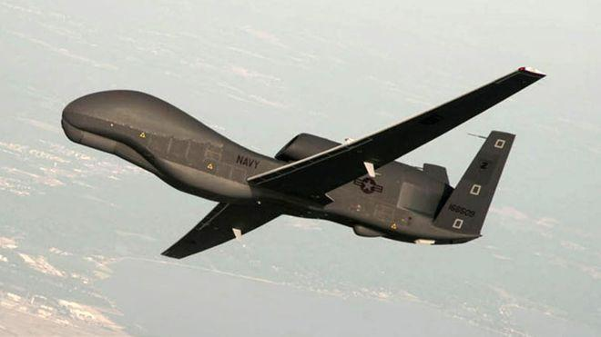 File photo of US Navy RQ-4A Global Hawk identified by the US as the drone shot down by Iran over the Strait of Hormuz, June 20