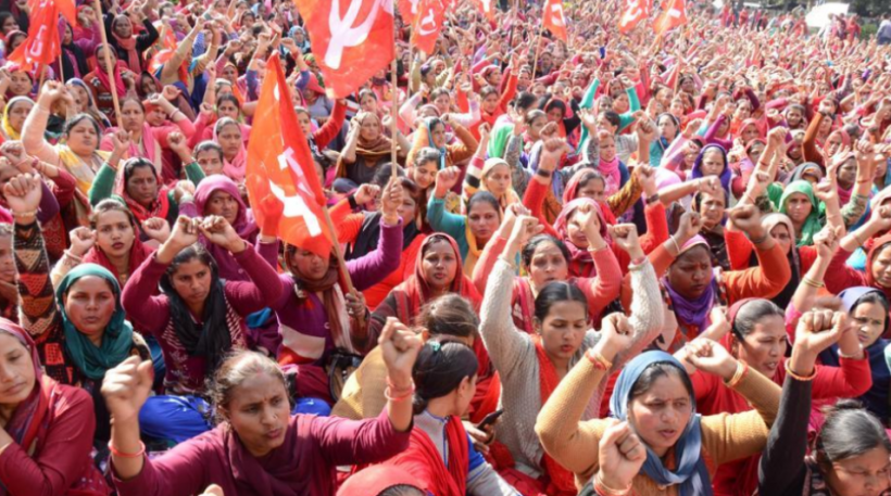 Stage Protest Across Jammu and Kashmir