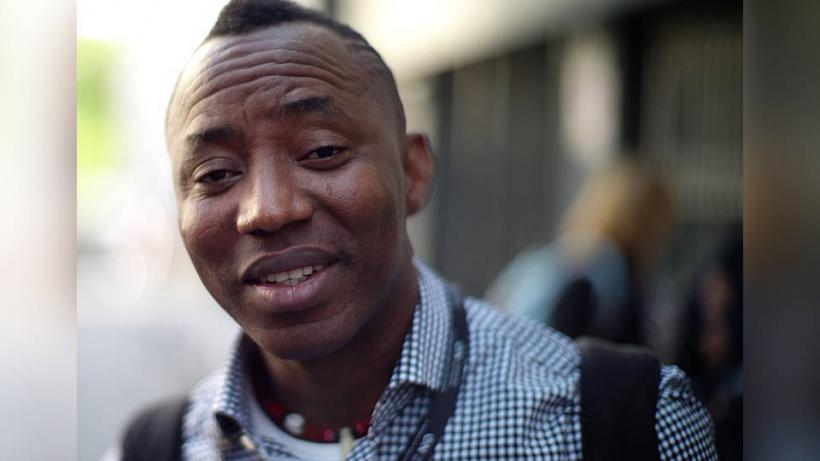 Nigerian journalist and activist Omoyele Sowore