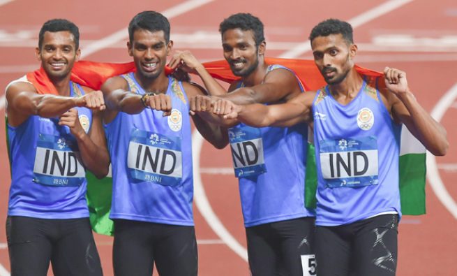 India pin hopes of the 4x400 relay quartets, including the men's team, at the IAAF World Athletics Championships in Doha
