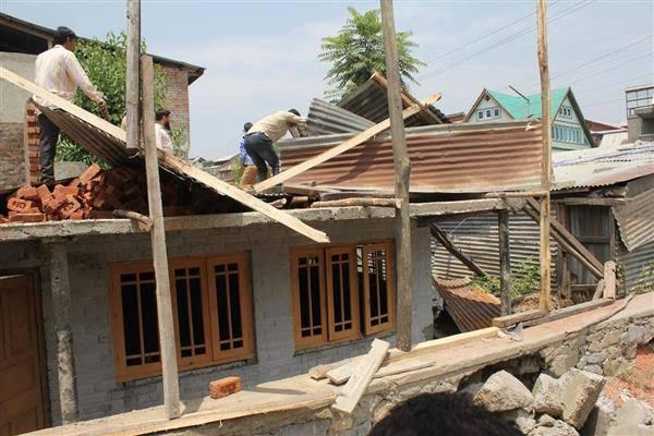 Illegal Construction in Green Belt Areas of Kashmir?
