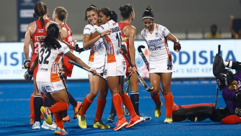 India vs USA hockey Olympic qualifier match