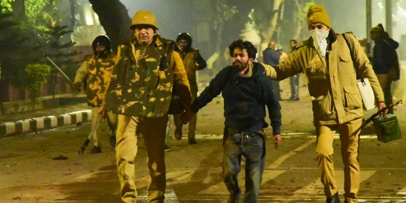 Anti-CAA Protests: Police Files FIR Against 150 Unnamed People, Including AMU, Jamia Students