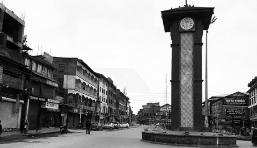 Jammu and Kashmir Lal Chowk