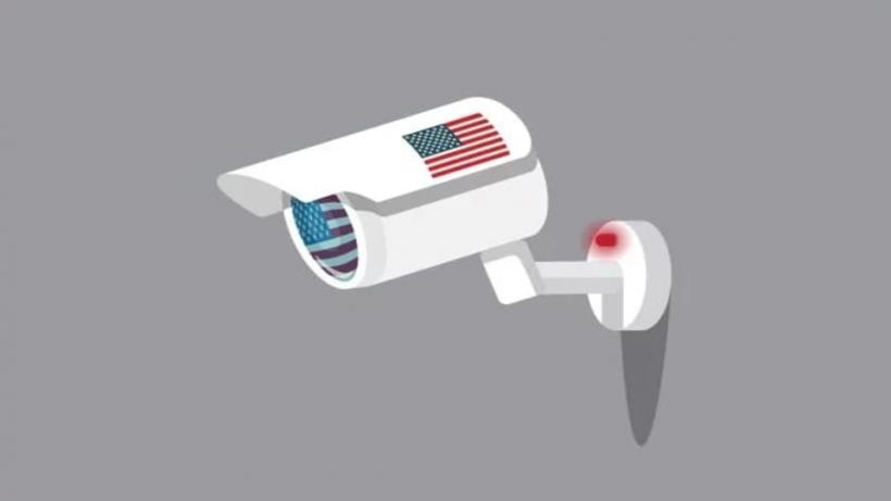 Snooping by USA.