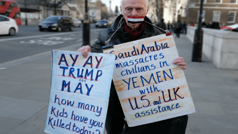Saudi-led and US backed war on Yemen enters sixth year.