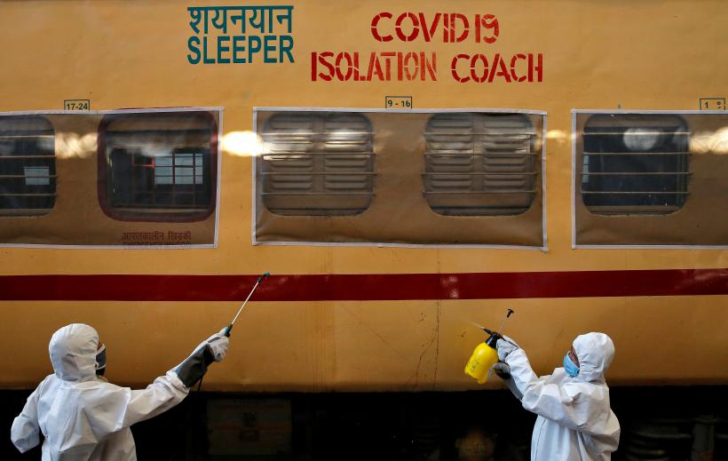 Railways' Sluggish Run Continues with Diminished Services Amid Extended COVID-19 Lockdown
