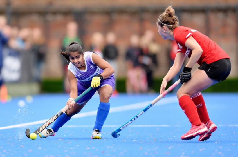 Indian women's hockey team player Neha Goyal