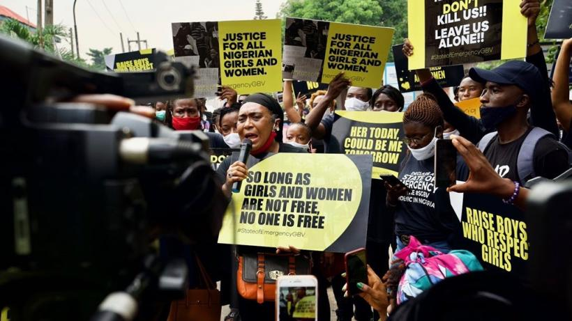 A series of mass protests have been organized in cities across Nigeria demanding that the government take immediate measures to curb sexual gender based violence.