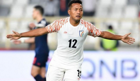 Indian football striker Jeje Lalpekhlua