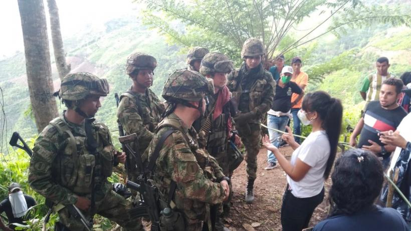 atrocities by soldiers in Colombia