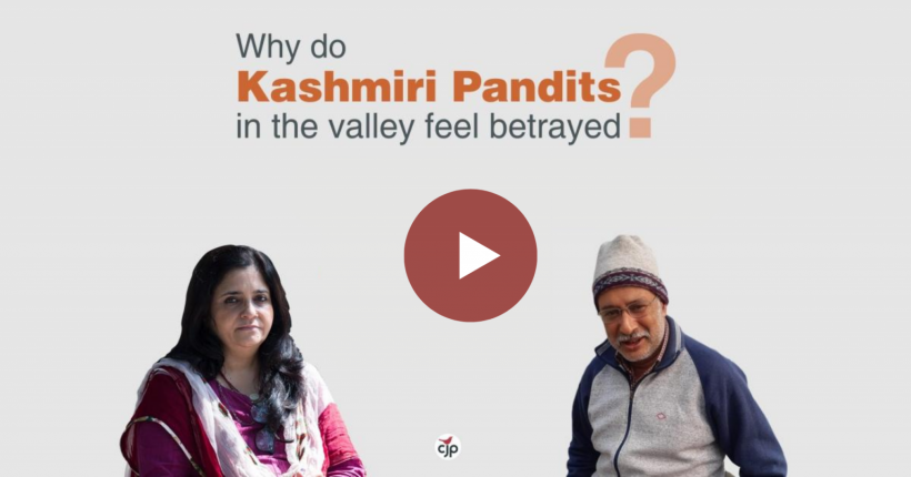 Here's Why Non-migrant Kashmiri Pandits Feel Betrayed