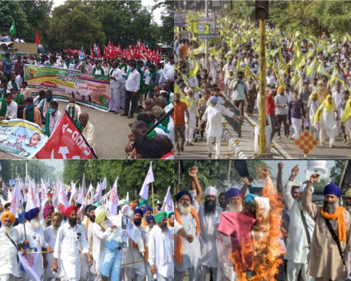 all india farmers protest