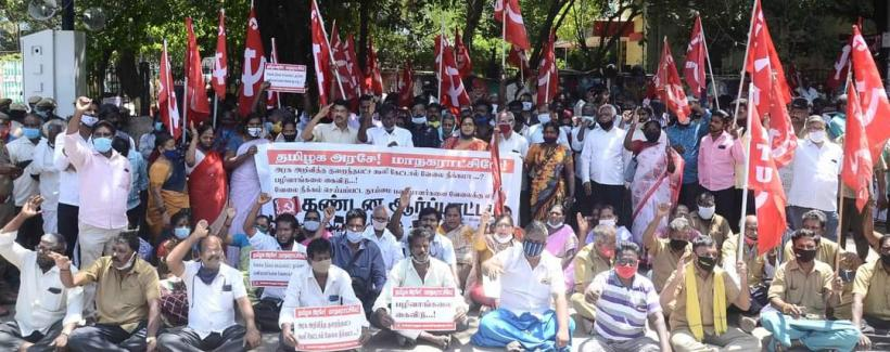 Chennai Corporation Terminates 291 Sanitation Workers, Suspends Union Office Bearers for Demanding Fair Wages