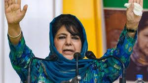 PDP, Gupkar Alliance Will Take Final Call on Contesting J&K Polls: Mehbooba