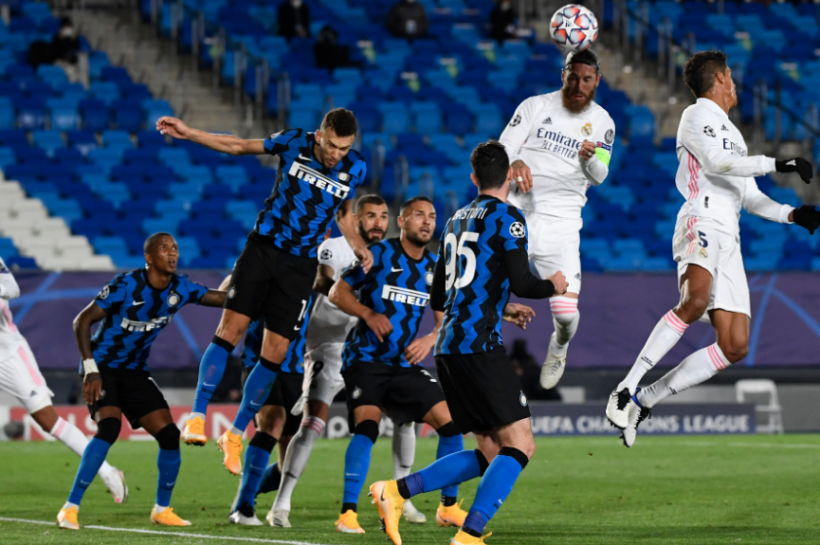 real madrid down inter milan notch first win of champions league diego maradona s condition improving says personal doctor and more football round up newsclick real madrid down inter milan notch