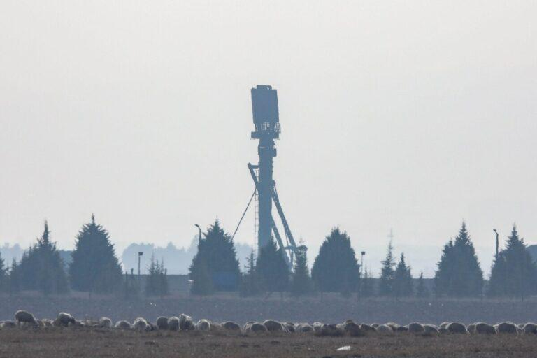 S-400 air defense system from Russia is activated for testing at the Turkish Air Force's Murdet Air Base on Nov. 25, 2019