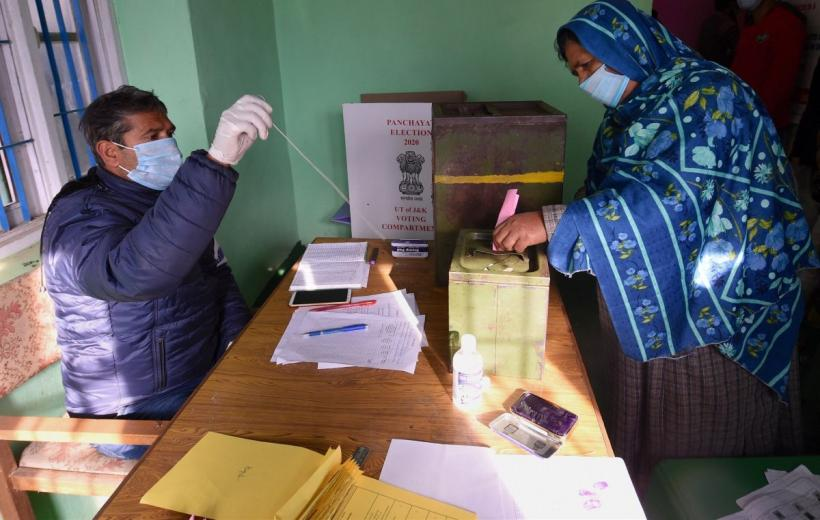 J&K Records 50.53% Voting in Third Phase of DDC Polls, Kashmir 32%