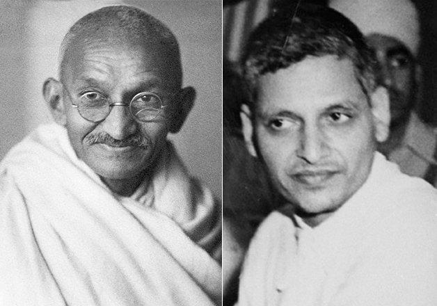 Gandhi and Godse