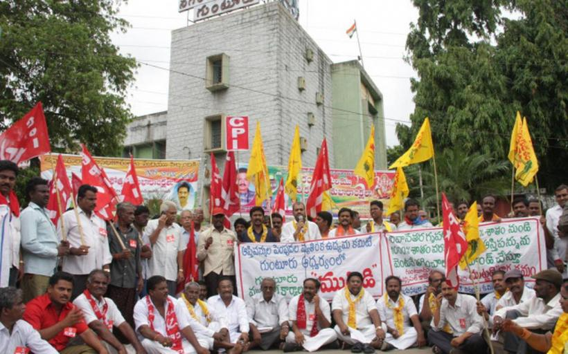 Increased Property Tax and Municipal Reforms Spark Protest in Andhra Pradesh