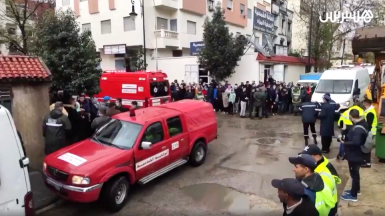 25 textile workers in Tangier, Morocco killed in industrial accident in illegal factory