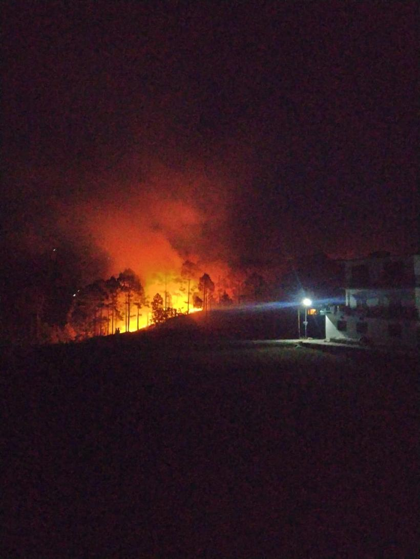 Menace of Forest Fires Continues in Uttarakhand  1