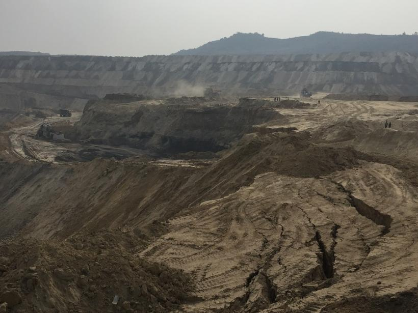 A non-Adani coal mine between Godda and the Ganges. Photo by Geoff Law