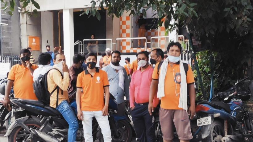 Swiggy Workers Protest