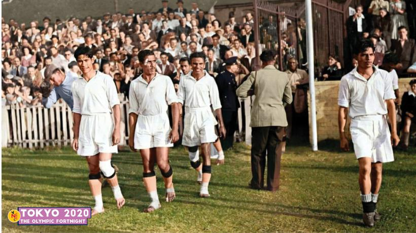 Indian football team at London Olympics 1948