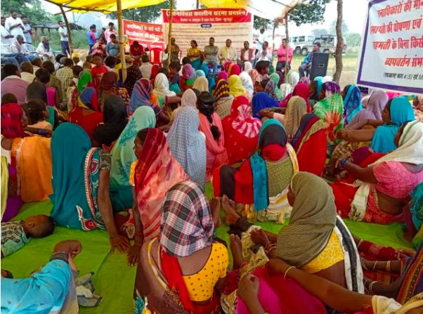 Chhattisgarh: Chhattisgarhs forced land acquisition: Tribals file police complaint   Raipur